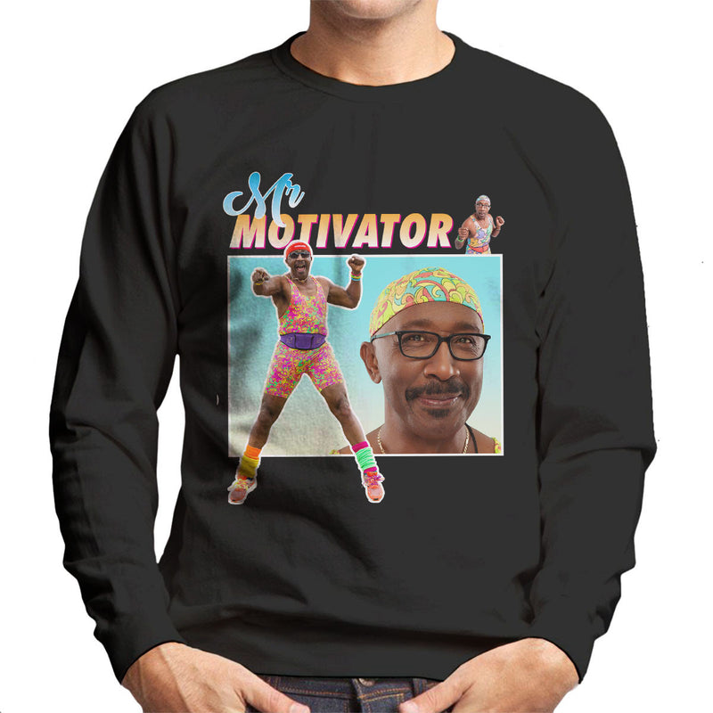 Mr Motivator Montage Men's Sweatshirt