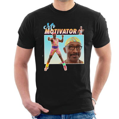 Mr Motivator Montage Men's T-Shirt