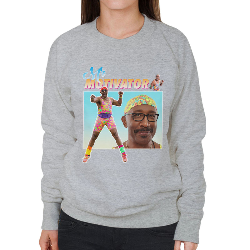 Mr Motivator Tribute Montage Women's Sweatshirt