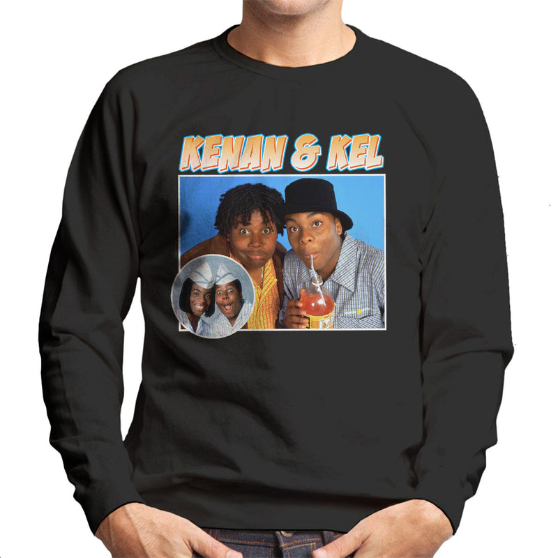Kenan And Kel Montage Men's Sweatshirt
