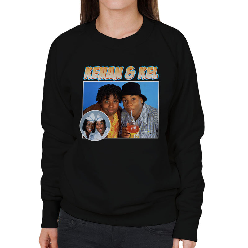 Kenan And Kel Montage Women's Sweatshirt