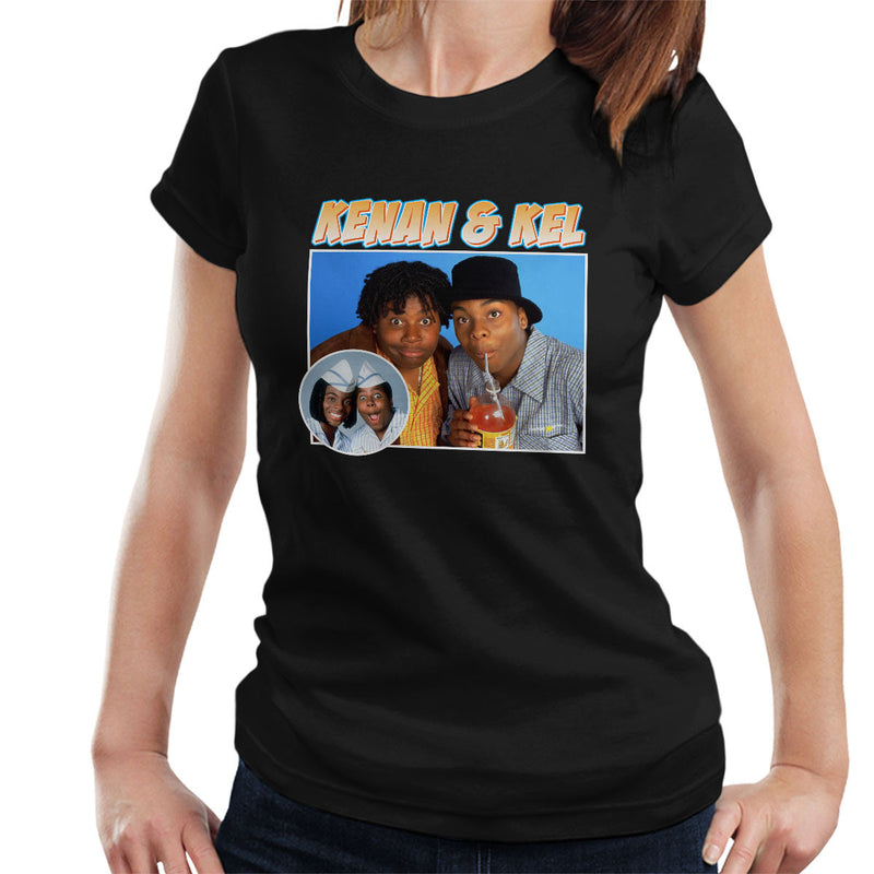 Kenan And Kel Montage Women's T-Shirt