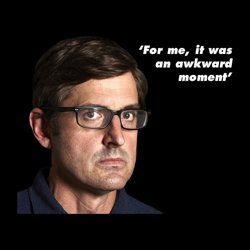 Louis Theroux Inspired Quote For Me It Was An Awkward Moment Men's Sweatshirt - NME Merch