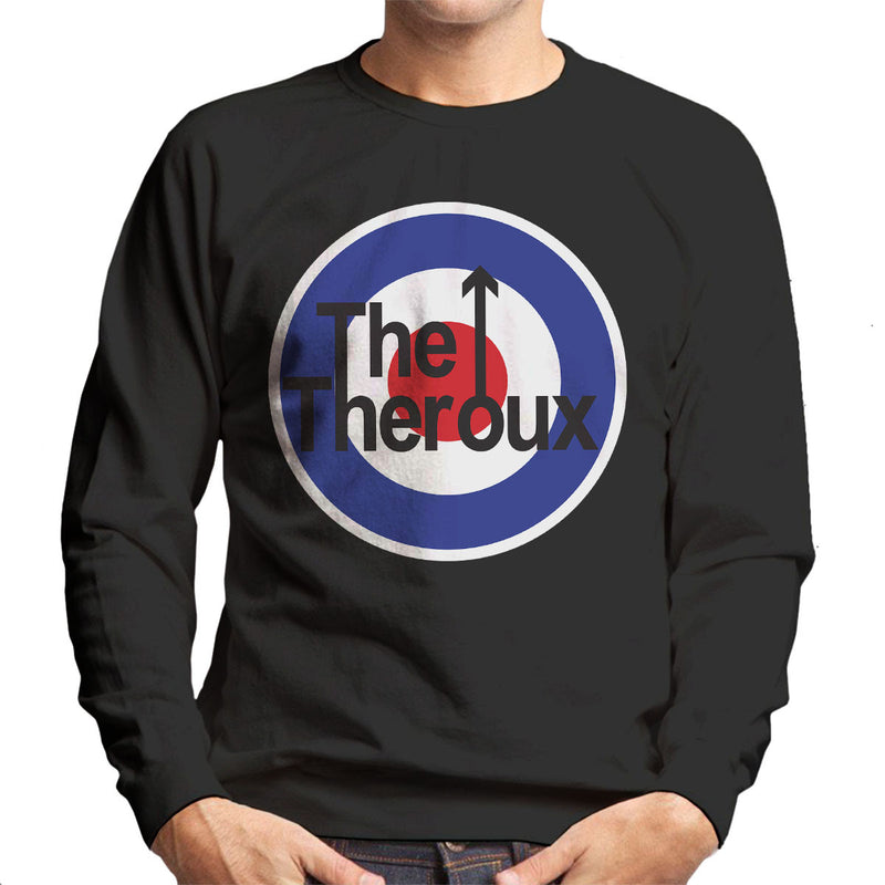 Louis Theroux Inspired The Who Logo Men's Sweatshirt