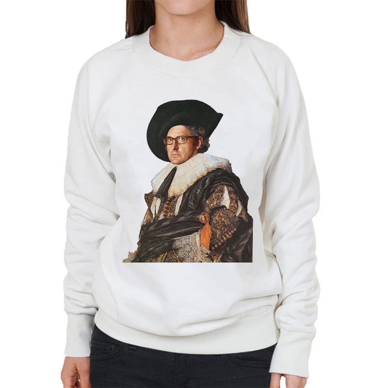 Louis Theroux Inspired Laughing Cavalier Women's Sweatshirt - NME Merch