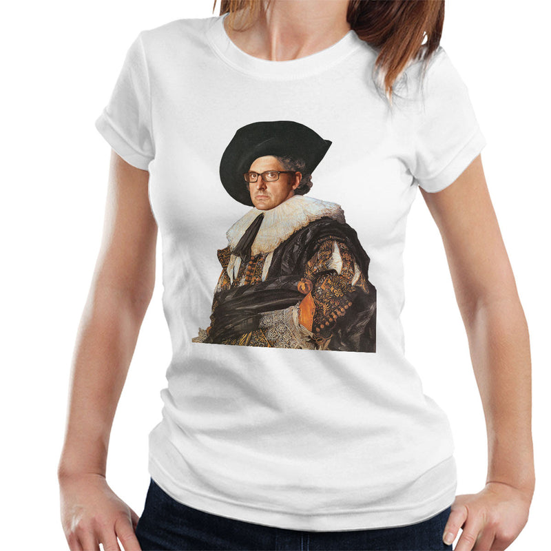 Louis Theroux Inspired Laughing Cavalier Women's T-Shirt - NME Merch