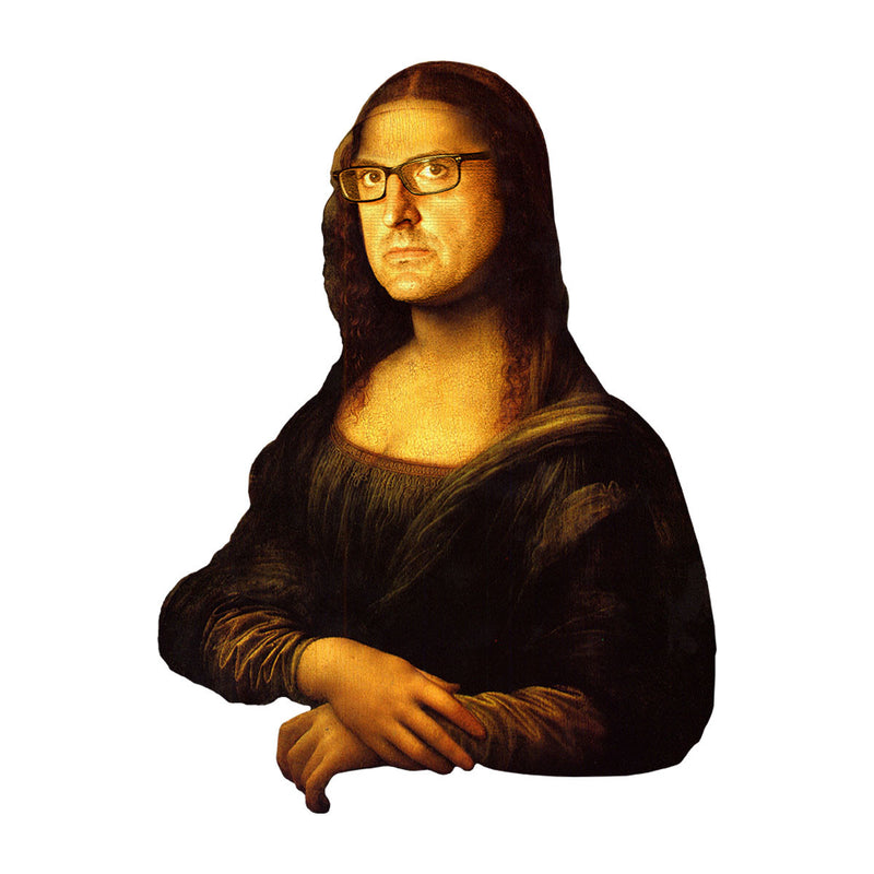Louis Theroux Inspired Mona Lisa Men's T-Shirt - NME Merch