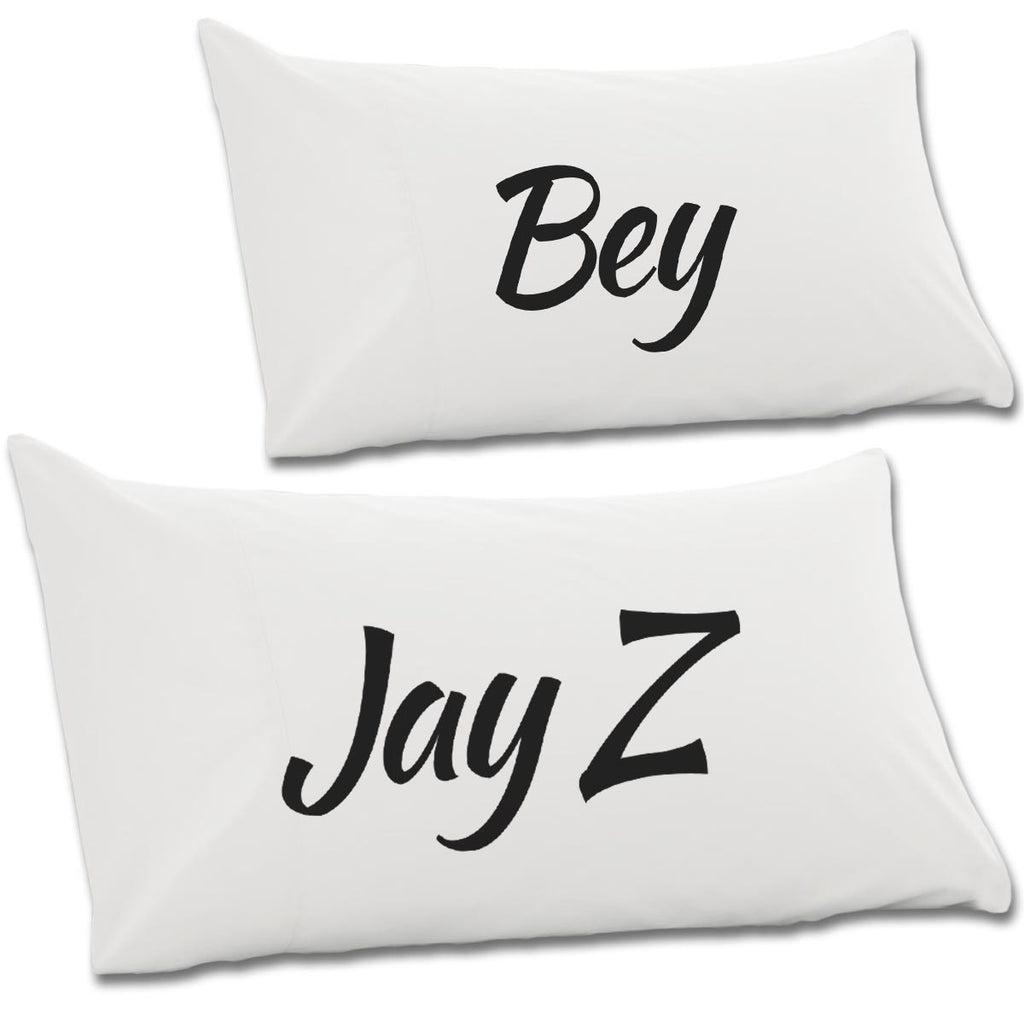 Jay Z & Bey Pair Of Pillow Cases