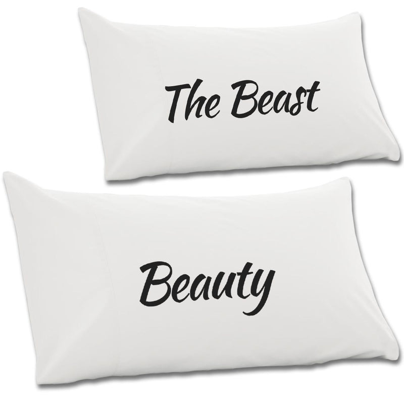 Beauty & The Beast Pair Of Pillow Cases - NME Merch