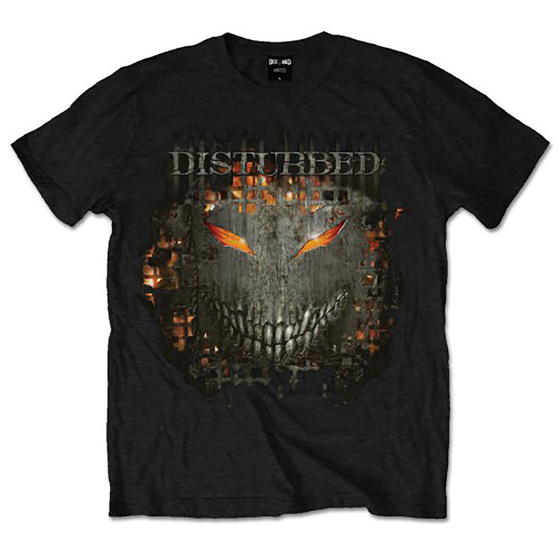 Disturbed Fire Behind Men's T-Shirt - NME Merch