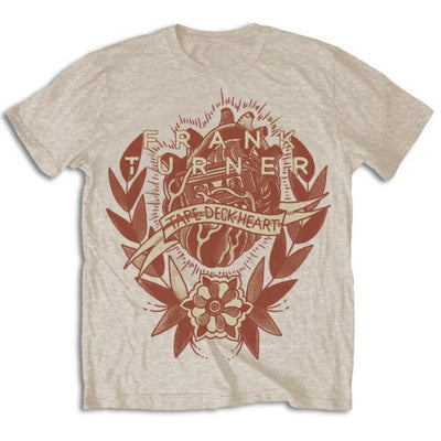 Frank Turner Men's Tee: Tape Deck Heart - NME Merch