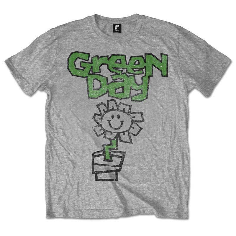 Green Day Flower Pot Men's T-Shirt