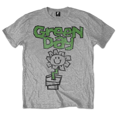 Green Day Flower Pot Men's T-Shirt - NME Merch