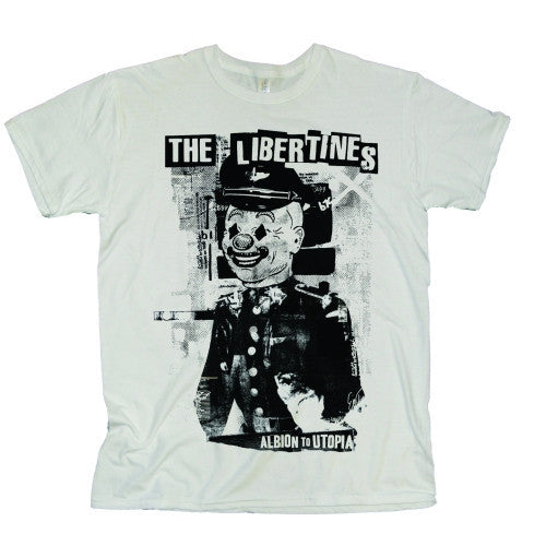 The Libertines Albio to Utopia Men's T-Shirt - NME Merch