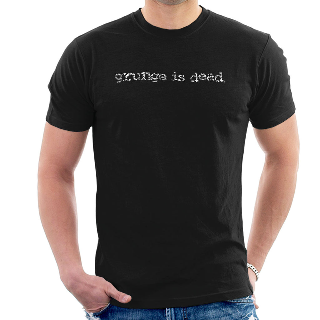 Grunge Is Dead By Kurt Cobain Nirvana Men's T-Shirt