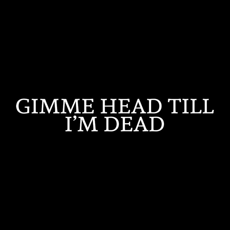Gimme Head Till Im Dead Inspired By & Worn By Tommy Chong Men's T-Shirt