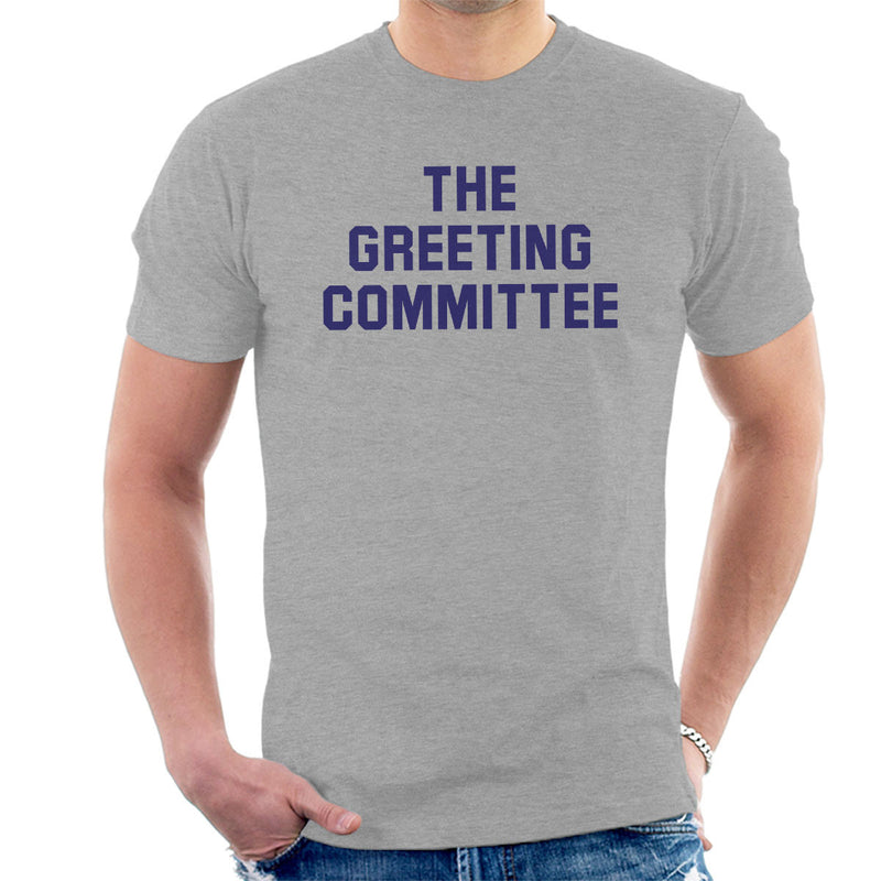 The Greeting Committee Worn By John Lennon Men's T-Shirt