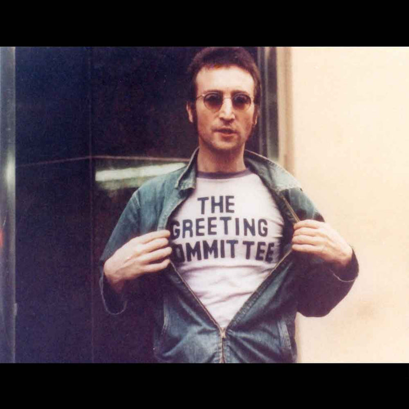 The Greeting Committee Worn By John Lennon Men's T-Shirt - NME Merch