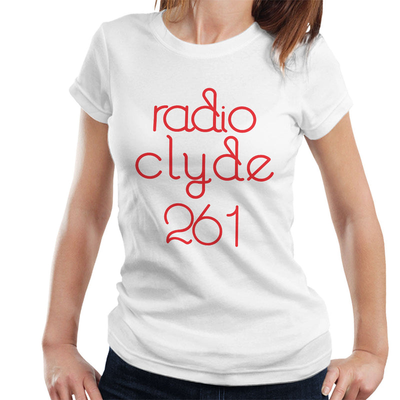 Radio Clyde 261 Worn By Frank Zappa Women's T-Shirt