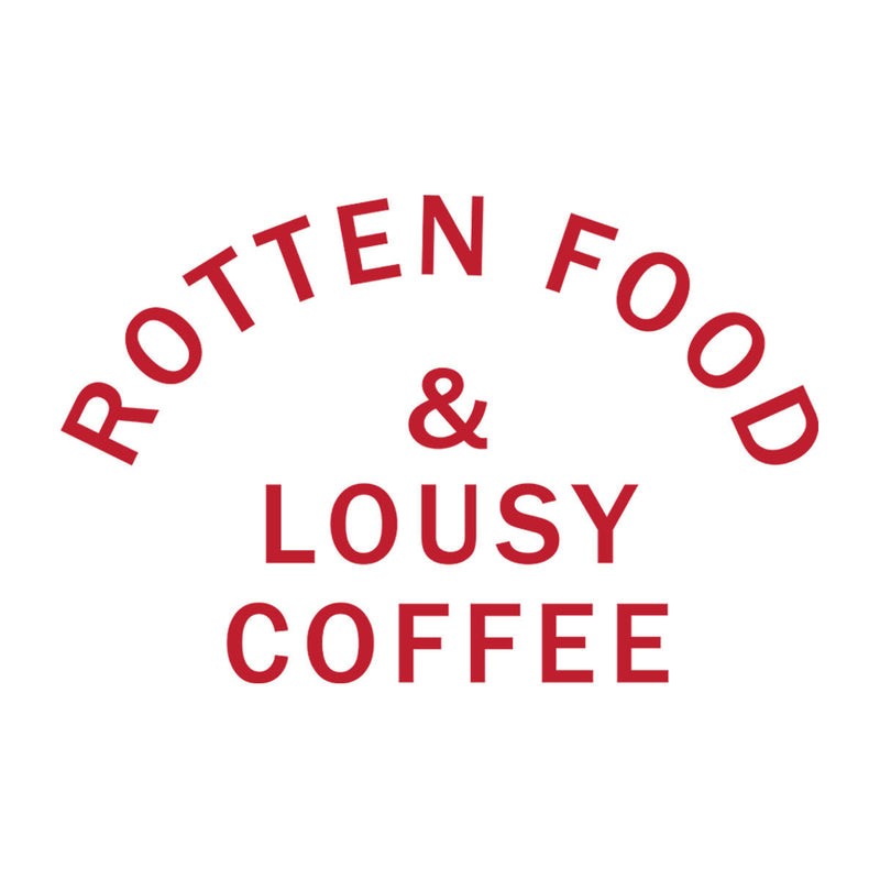 Rotten Food And Lousy Coffee Worn By Joe Cocker Men's T-Shirt - NME Merch