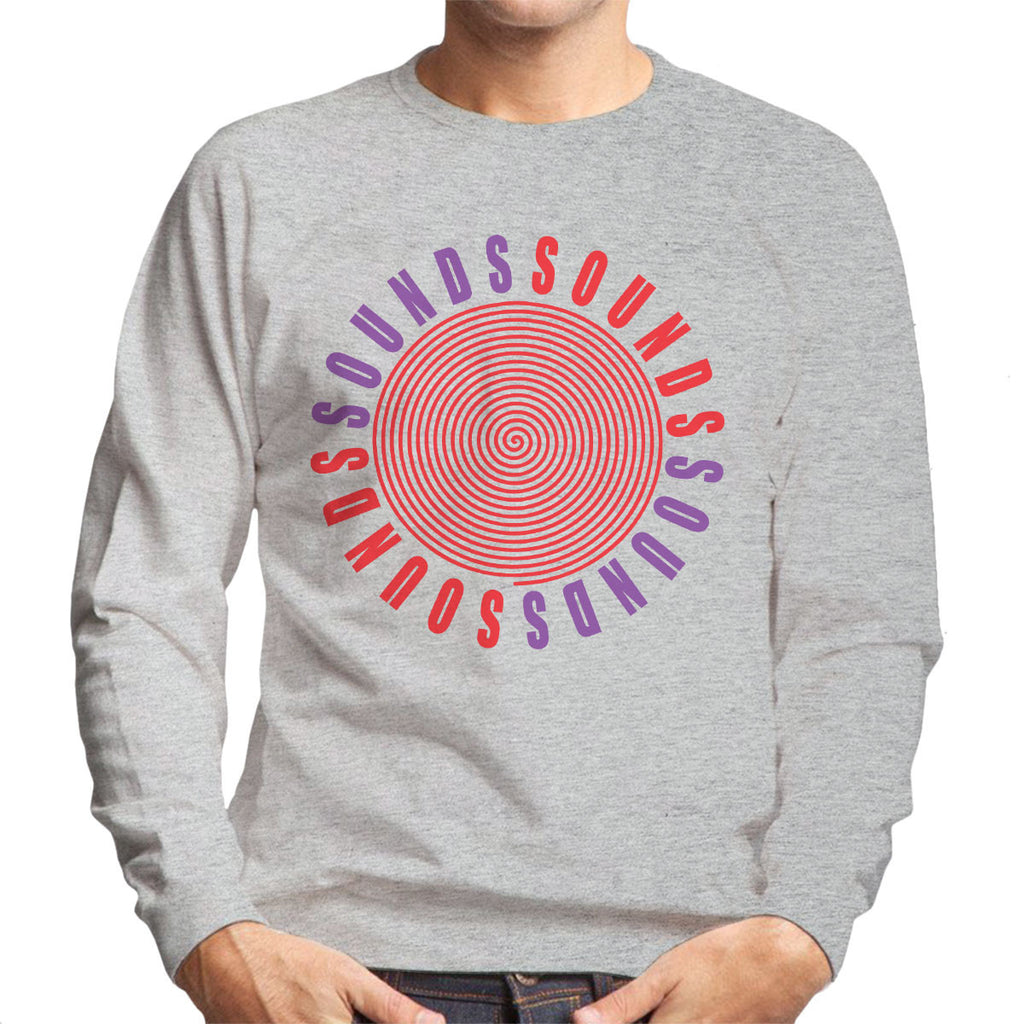 Sounds Worn By Kurt Cobain Men's Sweatshirt