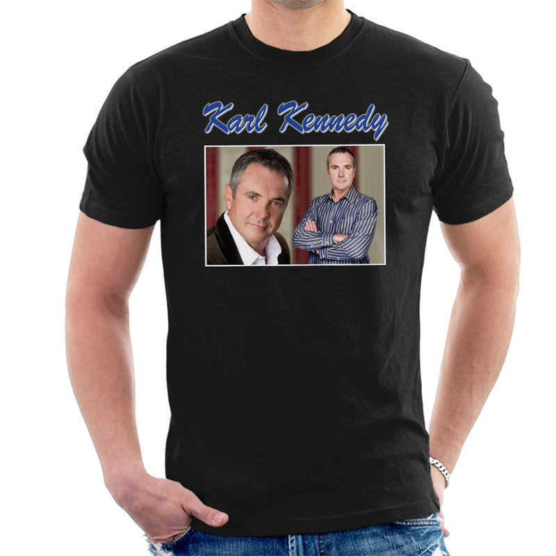 Karl Kennedy Tribute Neighbors Tribute Montage Men's T-Shirt - NME Merch