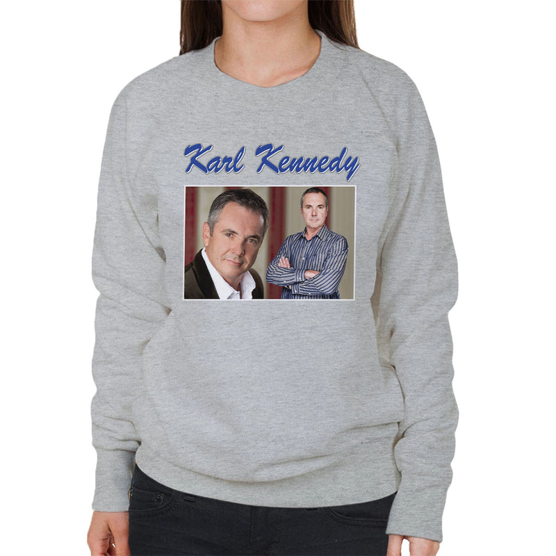 Karl Kennedy Tribute Neighbors Tribute Montage Women's Sweatshirt