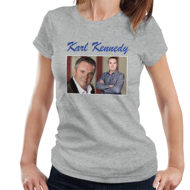 Karl Kennedy Tribute Neighbors Tribute Montage Women's T-Shirt - NME Merch