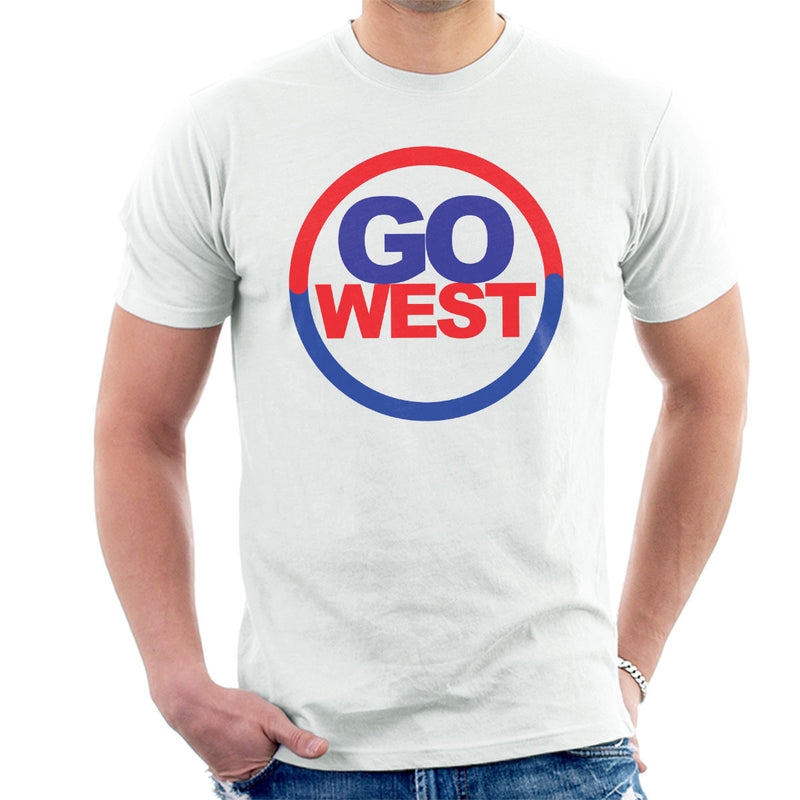 Pet Shop Boys Go West Men's T-Shirt