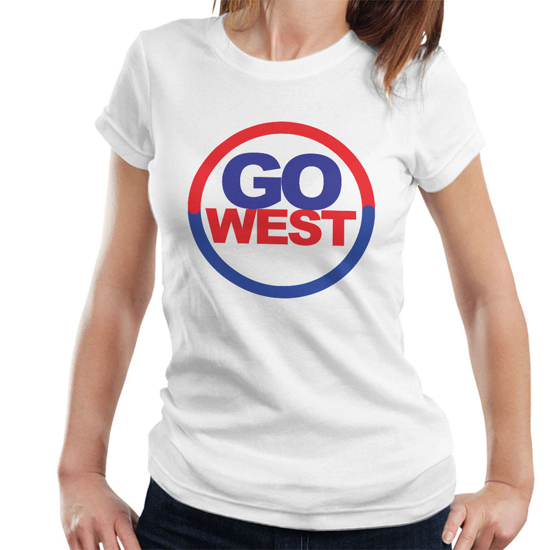 Pet Shop Boys Inspired Go West Women's T-Shirt - NME Merch