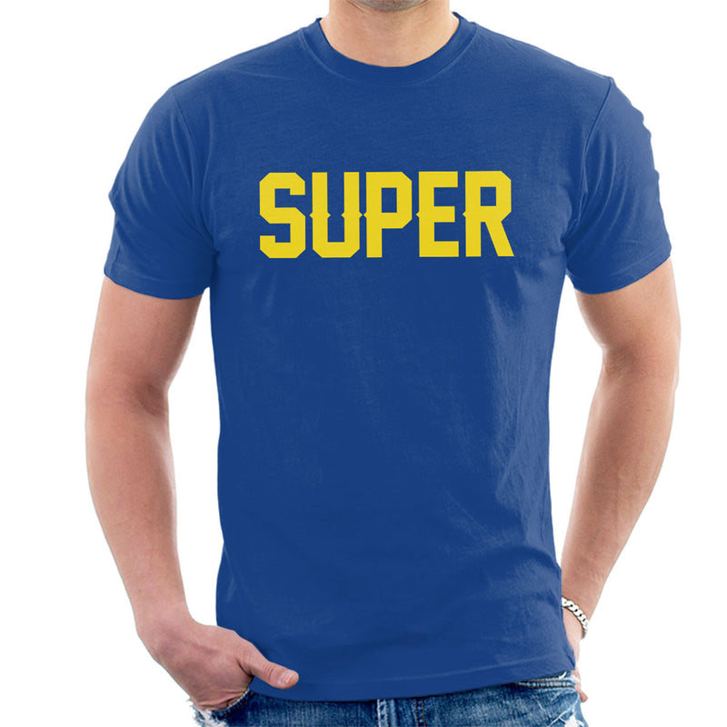 Pet Shop Boys Super Men's T-Shirt