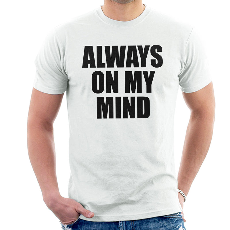 Pet Shop Boys Always On My Mind Men's T-Shirt