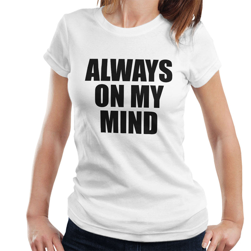Pet Shop Boys Always On My Mind Women's T-Shirt