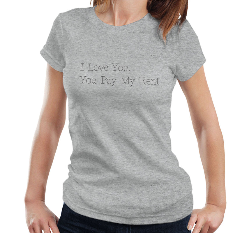 Pet Shop Boys You Pay My Rent Womens T-Shirt