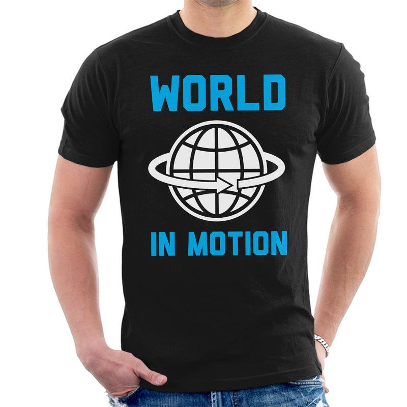 New Order Inspired World In Motion Men's T-Shirt