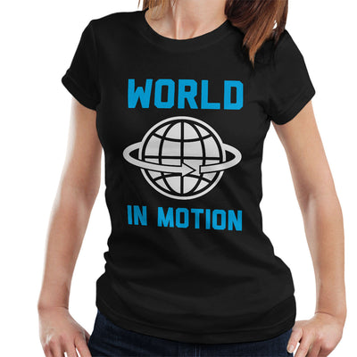 New Order Inspired World In Motion Women's T-Shirt - NME Merch