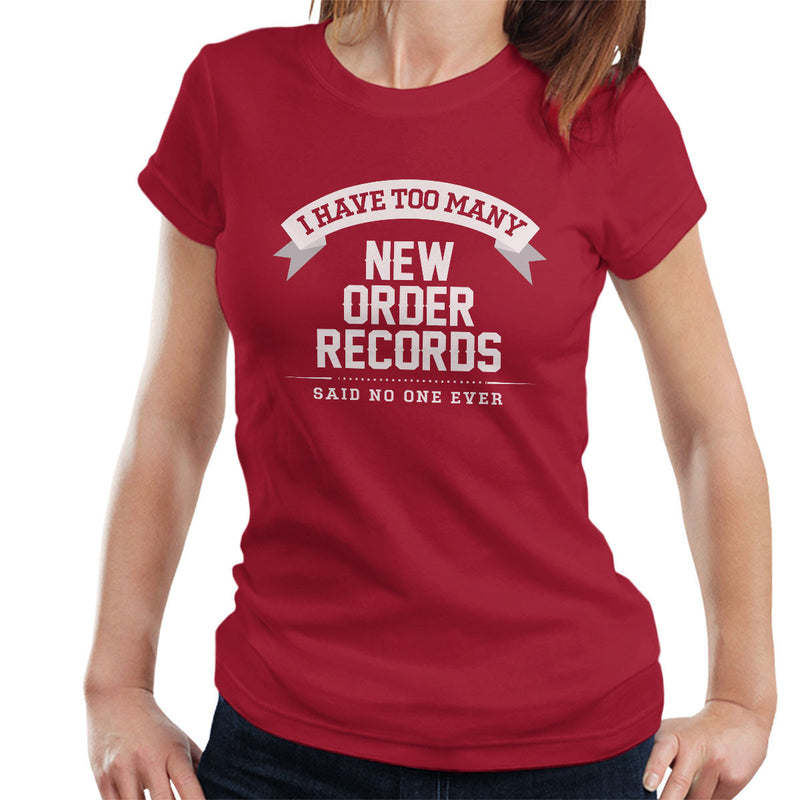 I Have Too Many New Order Records Women's T-Shirt - NME Merch