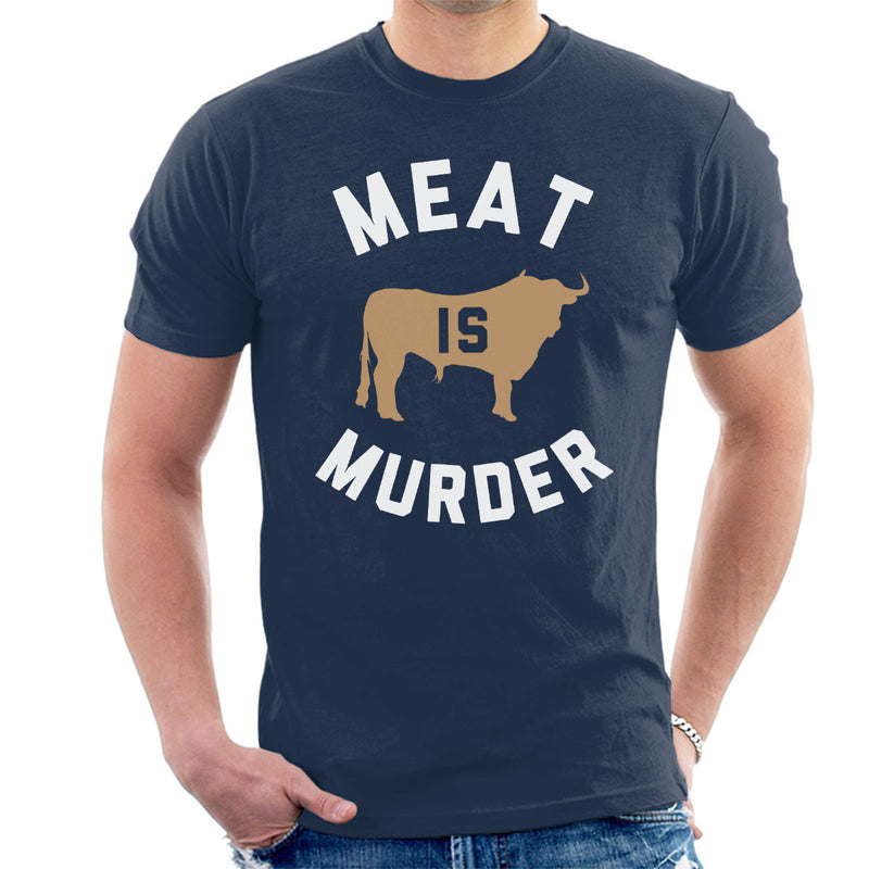 The Smiths Inspired Meat Is Murder Men's T-Shirt