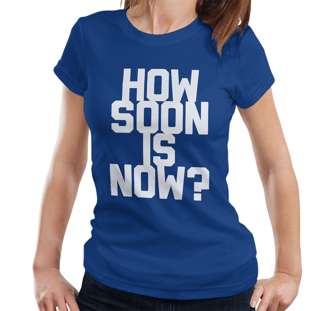 the smiths inspired how soon is now women 39 s t shirt nmemerch. Black Bedroom Furniture Sets. Home Design Ideas