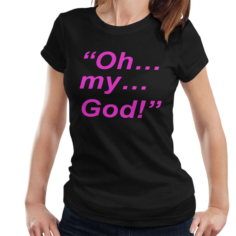 Friends Inspired Janice Quote Oh My God Pink Women's T-Shirt