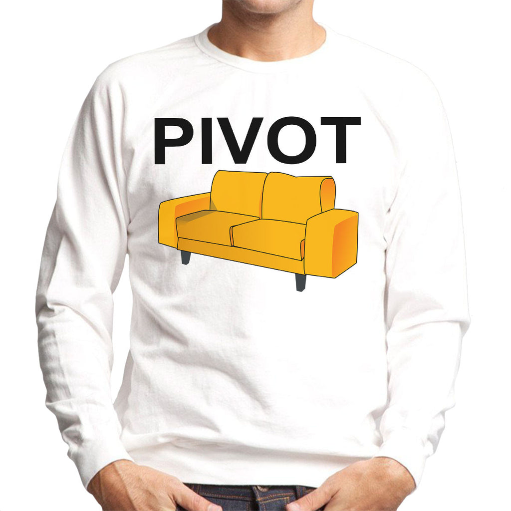 Friends Inspired Ross Quote Pivot Men's Sweatshirt