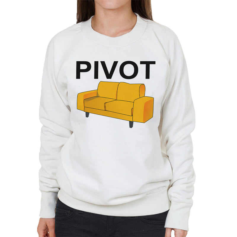 Friends Inspired Ross Quote Pivot Women's Sweatshirt