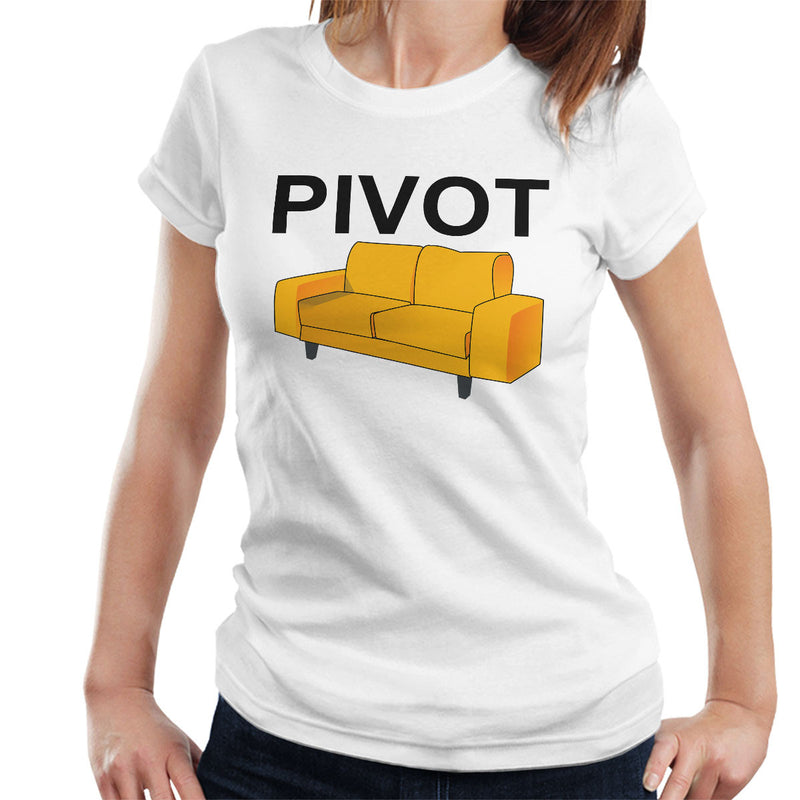 Friends Inspired Ross Quote Pivot Women's T-Shirt - NME Merch