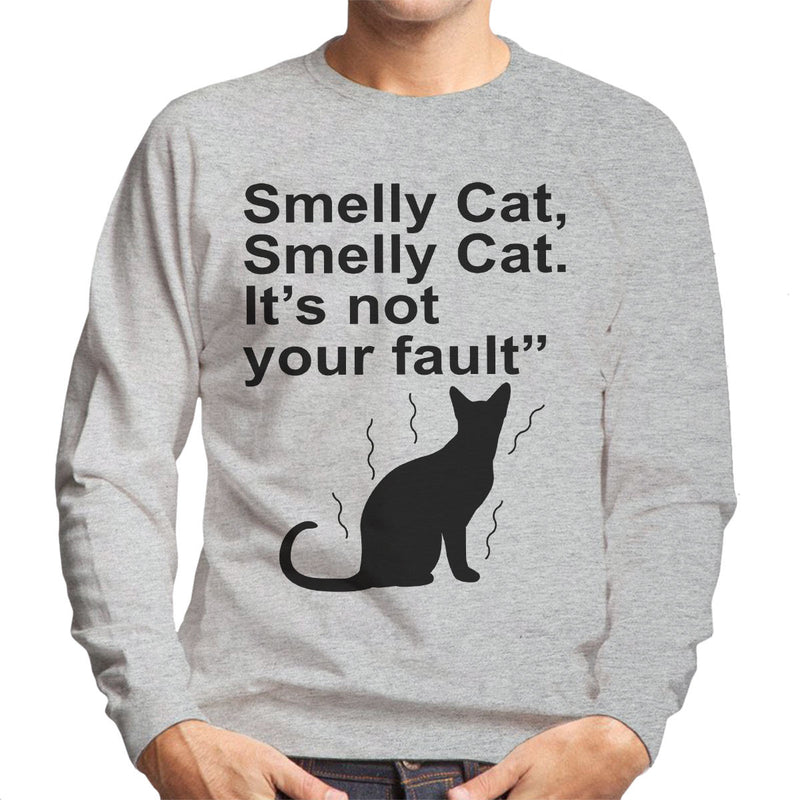 Friends Inspired Pheobe Quote Smelly Cat Men's Sweatshirt
