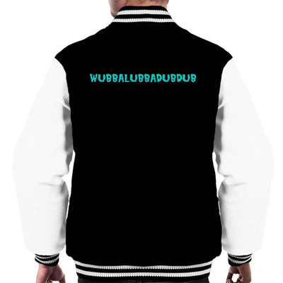 Rick and Morty Inspired Wubba Lubba Dub Dub Small Men's Varsity Jacket