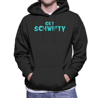 Rick and Morty Inspired Get Schwifty Men's Hooded Sweatshirt