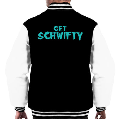 Rick and Morty Inspired Get Schwifty Men's Varsity Jacket