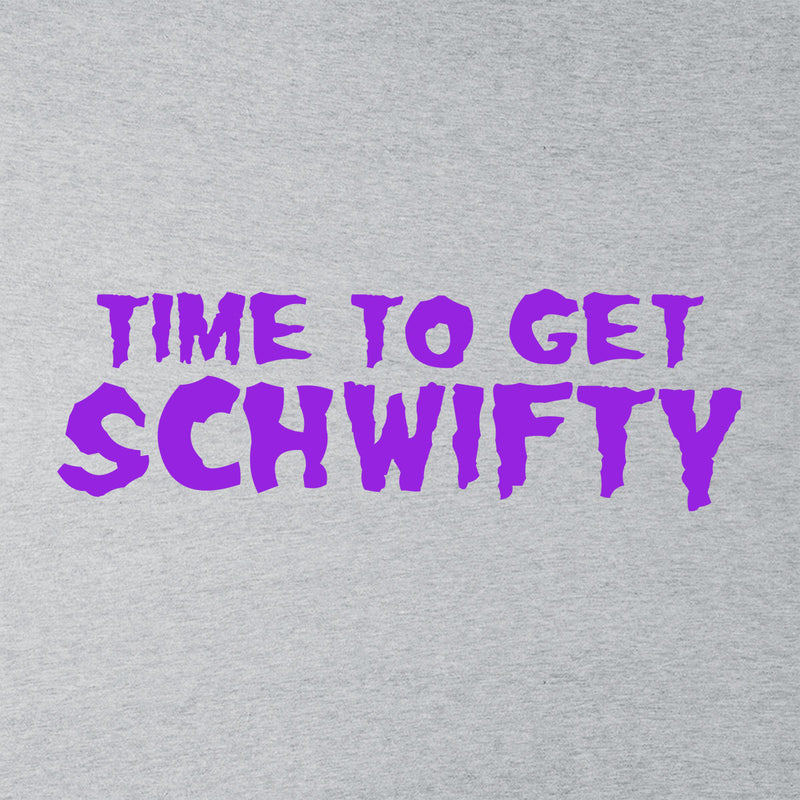 Rick and Morty Inspired Time To Get Schwifty Women's T-Shirt - NME Merch