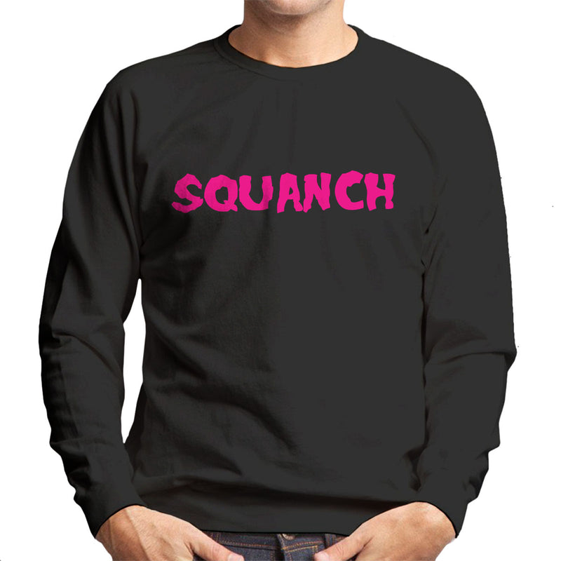 Rick and Morty Inspired Squanch Pink Men's Sweatshirt - NME Merch