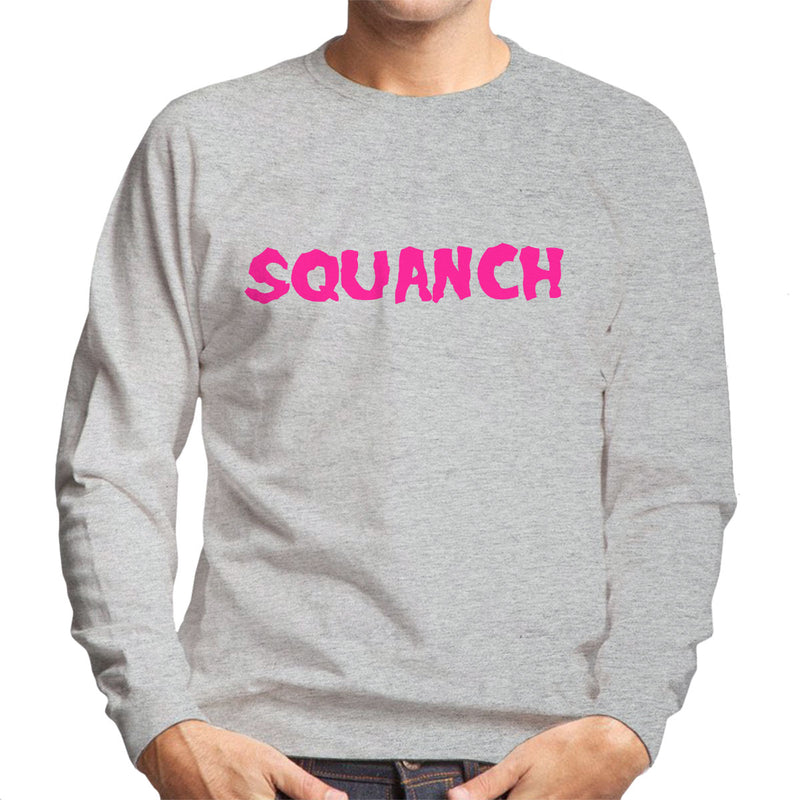 Rick and Morty Squanch Pink Men's Sweatshirt